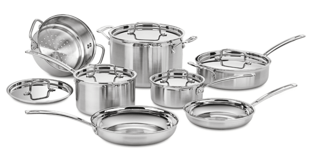 cuisinart stainless steel black friday cookware