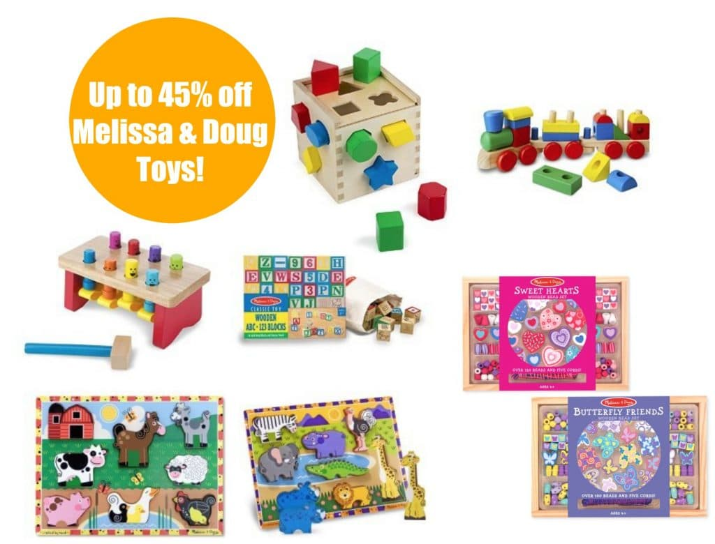 Melissa And Doug Toys : Melissa doug toy bundles up to off as amazon s deal