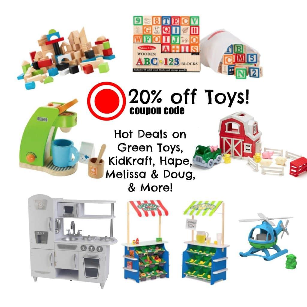 target-20-off-coupon-code-hot-deals-on-kidkraft-hape-melissa-doug-green-toys