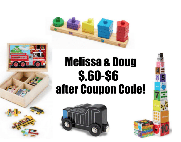 Discount melissa and doug toys