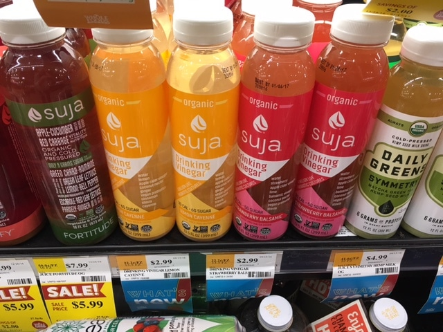 FREE Suja Organic Drinking Vinegar at Whole Foods after Coupon and ...