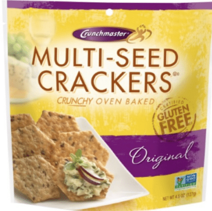 FREE Crunchmaster Gluten-free Crackers at Target after Coupon & Rebate ...