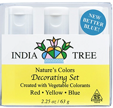 J.R. Watkins Plant-Based Food Dyes (Red, Blue, Green & Yellow ...