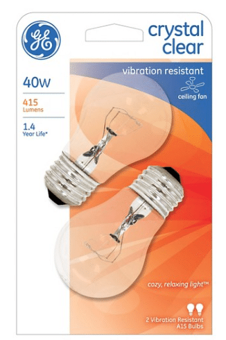 A Rare New GE Light Bulb Product Has Just Been Released! You Can Print Two  Copies.
