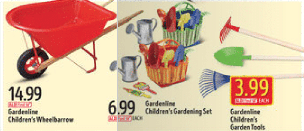 Aldi hot prices on eco friendly products glass for Aldi gardening tools 2016