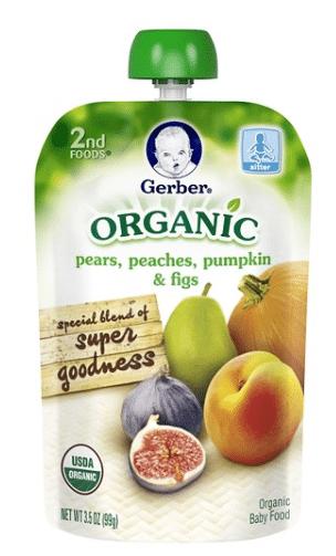 Gerber organic baby food coupons