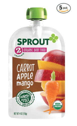 image relating to Baby Food Coupons Printable named Sprout youngster meals discount codes printable - Earn discount coupons