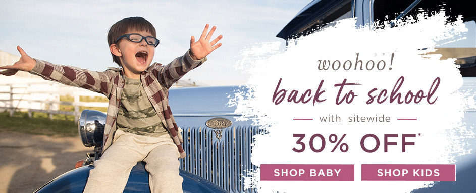 Burt S Bees Organic Baby Kids Clothing Sale 30 Off Sitewide