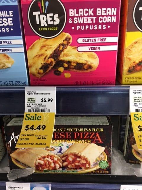 Frozen Pupusas Whole Foods