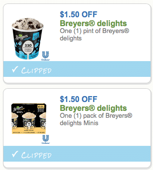 breyers delight ingredients
