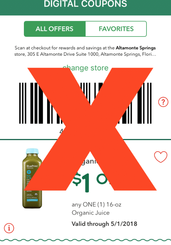 Whole foods market discontinues store app coupons all natural savings back in october i reported that whole foods was discontinuing their popular printable and whole deal coupons well more sad news as of may 1st 2018 malvernweather Image collections