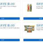 new organic coupons