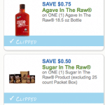 sugar agave in the raw coupons