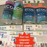 free organic samples and coupons from companies