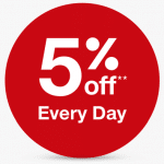 target redcard $25 off