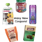 new organic coupons July