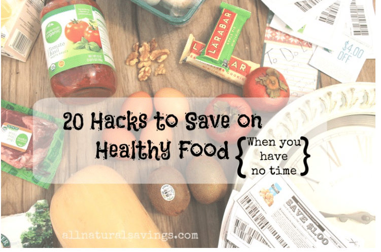 how to save on healthy foods