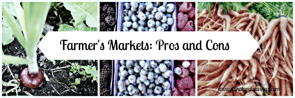 Farmers Market pros and cons