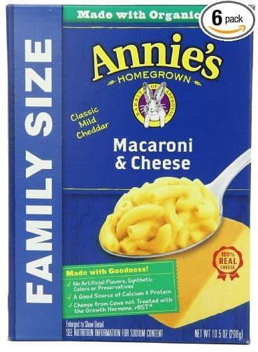 Annies family size macaroni