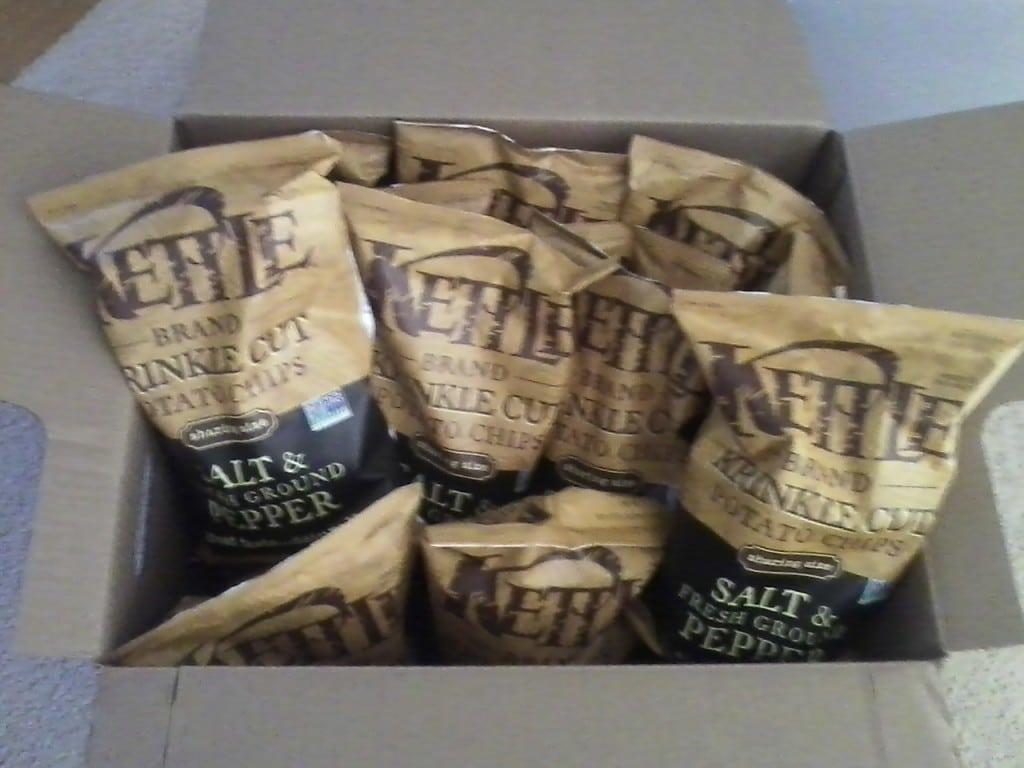 Kettle chips amazon warehouse 2