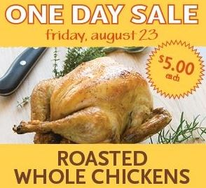 WF $5 chicken