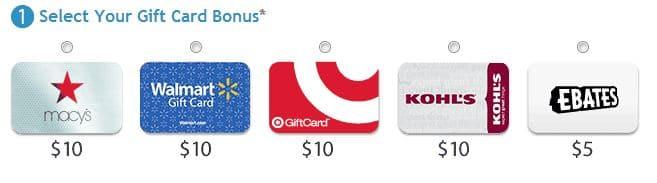 ebates free gift card