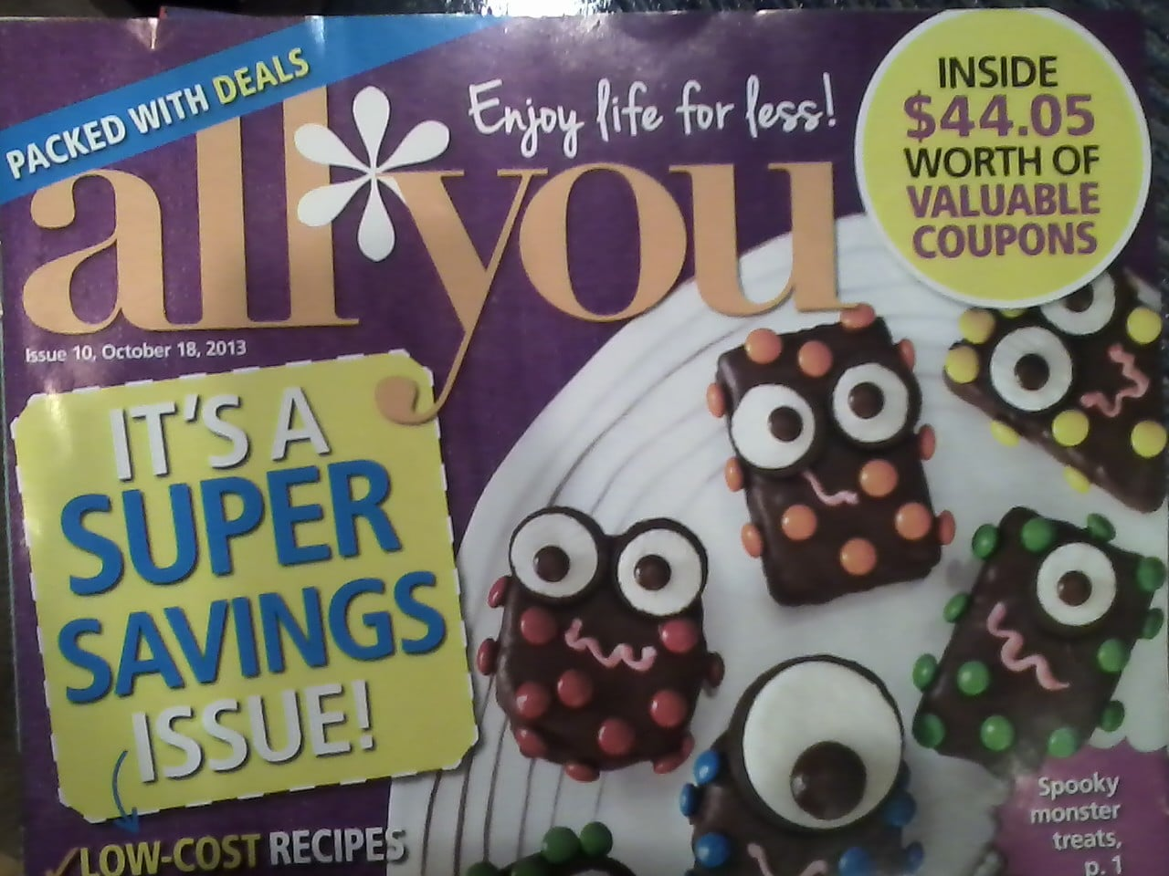 All You October issue