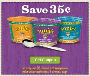 Annie's homegrown coupon