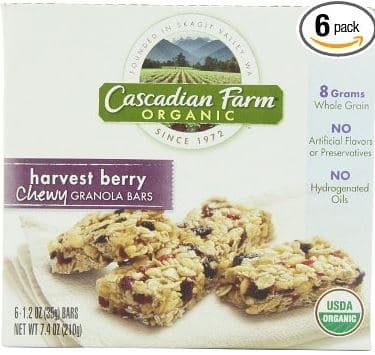 Cascadian Farm bars