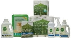 Seventh Generations product line
