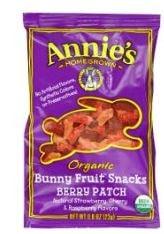 Amazon Annies fruit sancks
