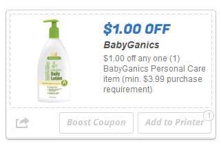 Babyganics coupon