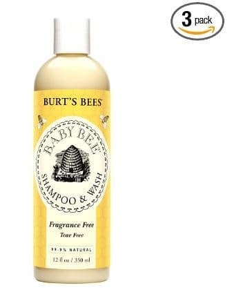 Burt's Bees shampoo and wash baby