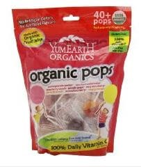 Yummy Earth pops