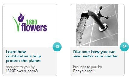 new points recyclebank