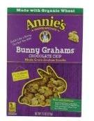 Annie's choc bunny grahams