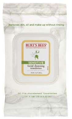 burts bees sensitive facial wipes