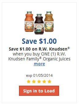 knudsen coupon