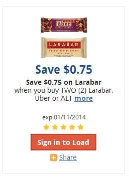 kroger larabar coupon
