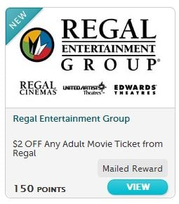 recyclebank movie ticket