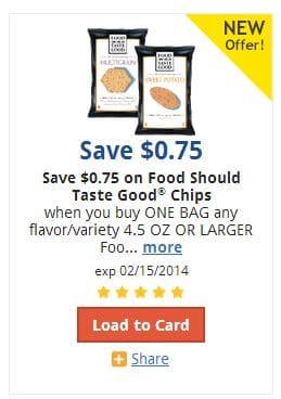 Food Should taste good coupon