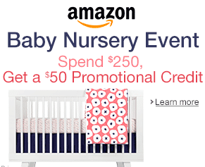 amazon nursery event