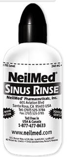 free neilmed sinus rinse