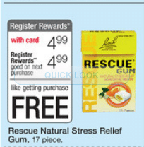 free rescue remedy gum
