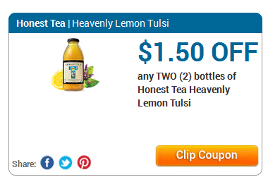 honest tea coupons