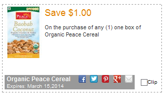 new common kindness organic coupons