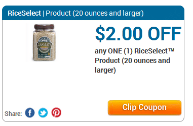riceselect coupon