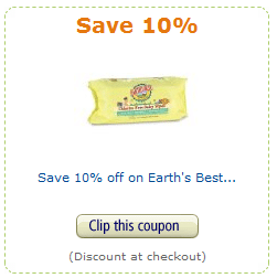 amazon earth's best coupon