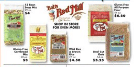 big lots bob's red mill sale