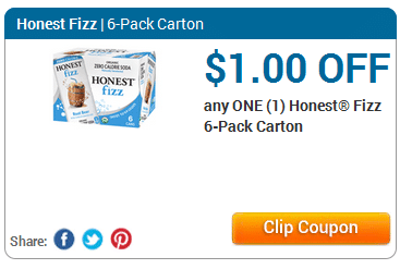 honest fizz coupon